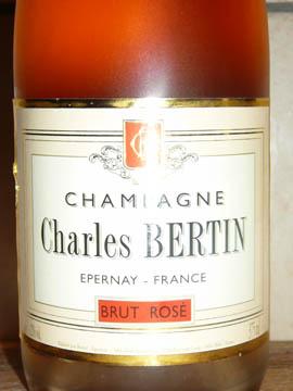 Champagne Charles Bertin, Brut Rosé