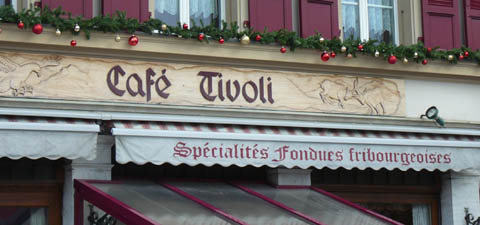 Café Tivoli, Châtel-St-Denis