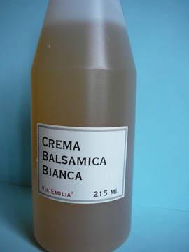 Crème Balsamique Blanche, Via Emilia