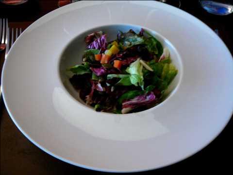 Petite salade d'hiver, vinaigrette au miel et citron