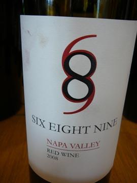 689 Six Eight Nine, Napa Valley, 2008