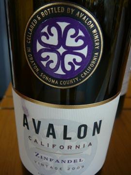 Zinfandel Avalon, 2009