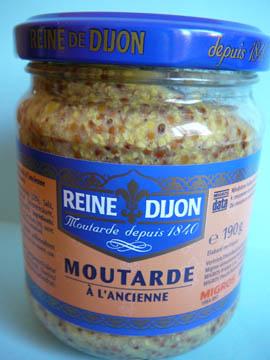 Moutarde à l'ancienne, Reine de Dijon