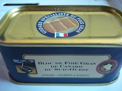 Bloc de Foie Gras de Canard du Sud-Ouest, Godard - Chambon & Marrel