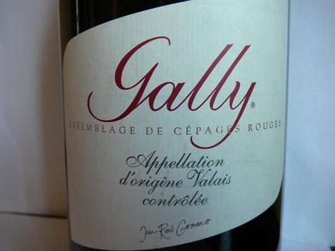 Gally Jean-René Germanier, 2008