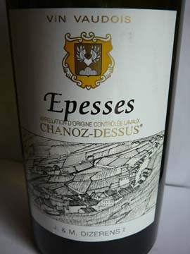 Epesses Chanoz-Dessus, J & M Dizerens, 2010