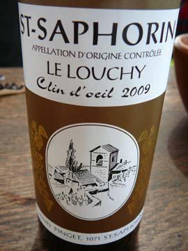 "Saint-Saphorin ""Clin d'oeil"" 2009"