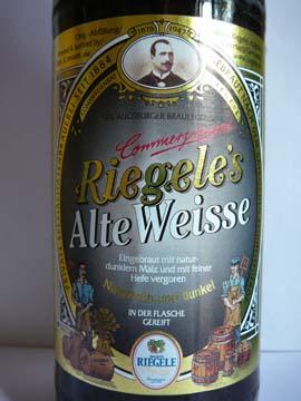 Bière Riegele Alte Weisse