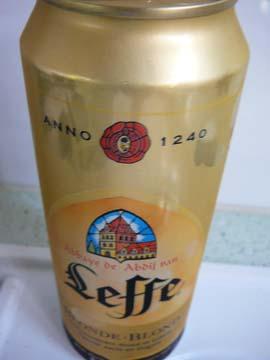 Bière d'Abbaye Leffe Blonde