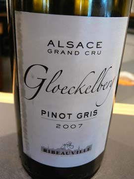 Pinot Gris Grand Cru Gloeckelberg 2007