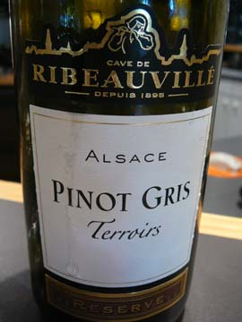Pinot Gris  Terroirs 2008