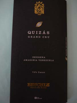 Chocolat Quizas Grand Cru Indigena Amazonia Venezuela