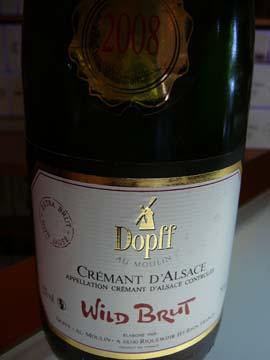 Crémant d'Alsace Wild Brut 2008