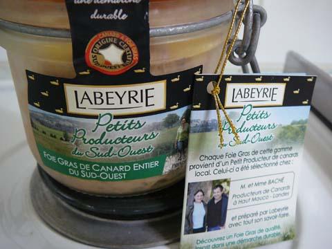 Foie Gras de Canard Entier du Sud-Ouest, Petits Producteurs du Sud-Ouest, Labeyrie