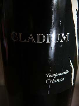Gladium Tempranillo Crianza 2006