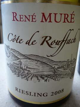Riesling Côte de Rouffach 2008