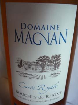 Domaine Magnan Cuvée Royale, VDP Bouches-du-Rhône