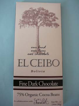 El Ceibo Fine Dark Chocolate