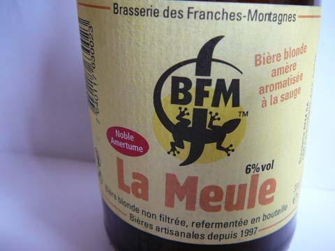 Bière La Meule, Brasserie des Franches Montagnes