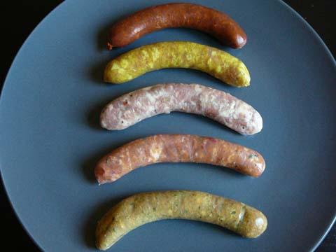 Les saucisses de la Boucherie Ruchet