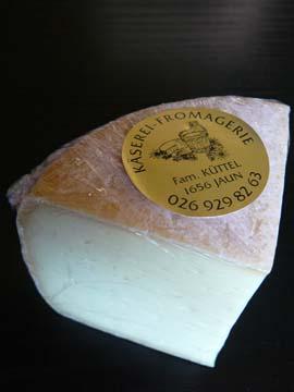 Mutschli de la Fromagerie de Jaun-Bellegarde