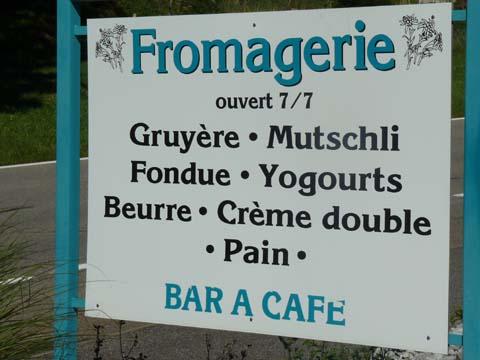Fromagerie de Jaun-Bellegarde
