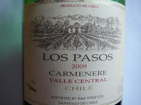 Carmenere Los Pasos 2009