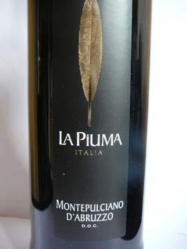 La Piuma, Montepulciano d'Abruzzo, 2010