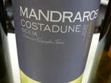 Mandrarossa Costadune 2010