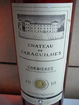 Château de Caraguilhes Rosé 2010