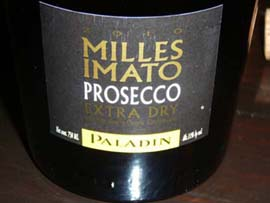 Prosecco DOC Millesimato Extra-dry 2010