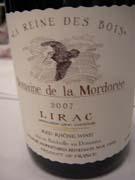 Domaine de la Mordorée, Lirac La Reine des Bois 2007
