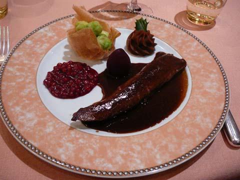"""Râble de lièvre """"cuit rosé"""""""