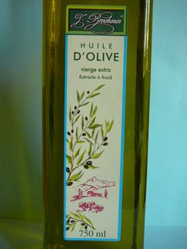 Huile d'olive vierge extra J. Brochenin