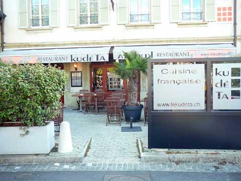 Restaurant le Kudeta, Genève, Carouge