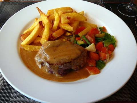 Filet de boeuf au Saint-Marcelin
