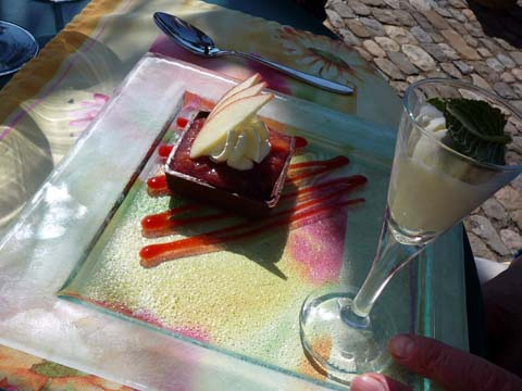 Tartelette à la rhubarbe