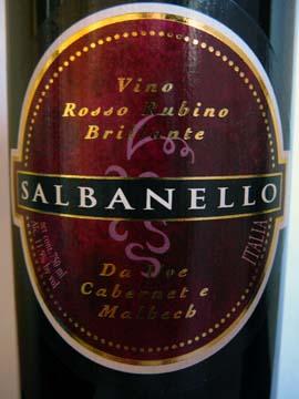 Salbanello Paladin 2010