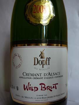 Wild Brut 2008, Dopff au Moulin