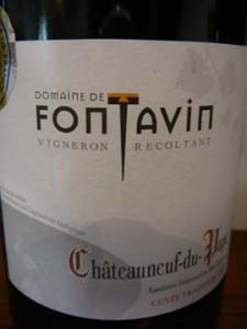 Fontavin Châteauneuf-du-Pape Tradition 2009