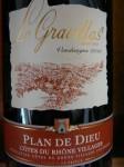 Gravillas Côtes du Rhône Plan de Dieu 2010
