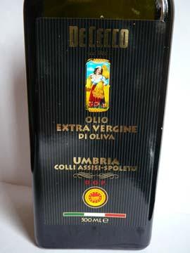 Huile d'olive extra vierge De Cecco Umbria Colli Assisi-Spoleto DOP