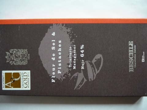 Chocolat Fleur de Sel & Pistache Beschle