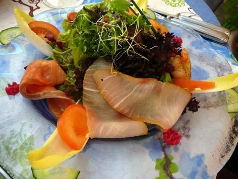 Grande salade Océane