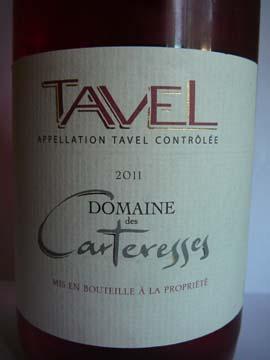 Tavel Domaine des Carteresses 2011