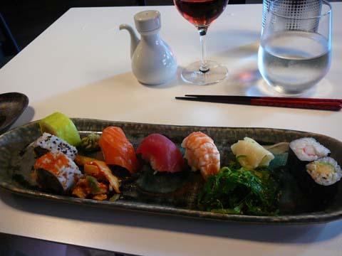 Restaurant Ichioshi, Vevey : Assortiment de dégustation de 7 pièces