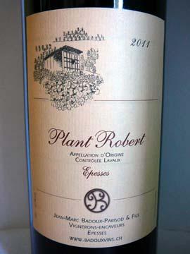 Plant Robert 2011, Jean-Marc Badoux-Parisod & Fils