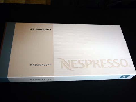 Chocolat Nespresso Madagascar