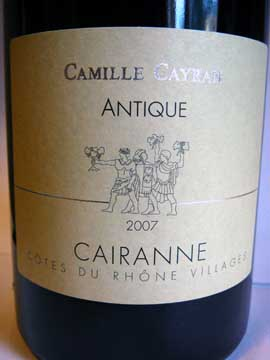 Camille Cayran Antique 2007