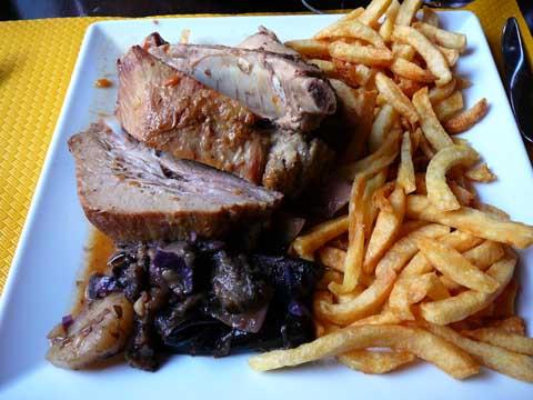 Avenir Lausanne - Travers de porc doucement cuisinés aux épices créoles
